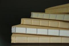 Cuaderno hecho a mano Foto de archivo