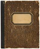 Cuaderno/libro de cocina de la vendimia Fotos de archivo libres de regalías