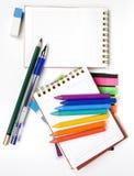 Cuaderno opuesto dos Fotos de archivo libres de regalías