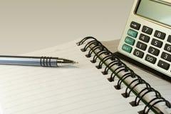 Cuaderno para el hombre de negocios. Imagen de archivo libre de regalías