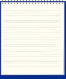 Cuaderno puro. Ilustración del vector Imágenes de archivo libres de regalías