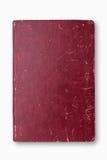 Cuaderno rojo de la cubierta del Grunge Fotos de archivo libres de regalías