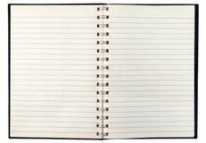 Cuaderno viejo Fotografía de archivo