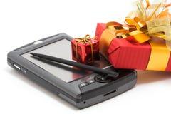 Cuaderno y regalos personales fotos de archivo libres de regalías