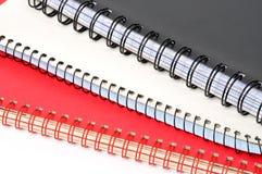 Cuadernos fotografía de archivo libre de regalías
