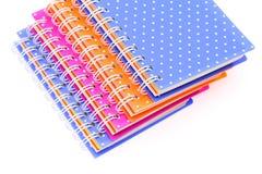 Cuadernos Fotos de archivo