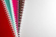 cuadernos Foto de archivo