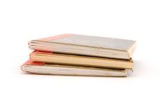 Cuadernos Imagen de archivo libre de regalías