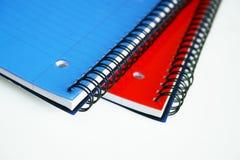 Cuadernos imagenes de archivo
