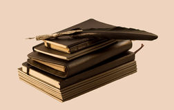 Cuadernos Foto de archivo libre de regalías