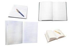 Cuadernos imágenes de archivo libres de regalías
