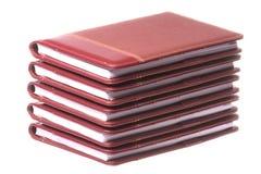 Cuadernos aislados Fotos de archivo libres de regalías