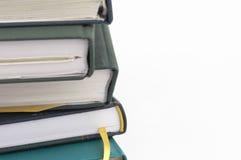 Cuadernos aislados Fotografía de archivo