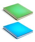 Cuadernos coloridos Imágenes de archivo libres de regalías