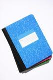 Cuadernos de mármol fotos de archivo libres de regalías