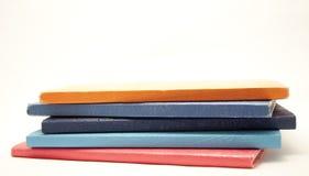 Cuadernos empilados Fotografía de archivo