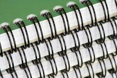 Cuadernos Spiral-Bound Fotografía de archivo libre de regalías
