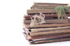 Cuadernos viejos Fotografía de archivo libre de regalías