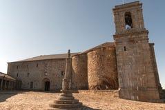 Cuadrado cruzado del monasterio Fotos de archivo libres de regalías