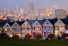Cuadrado de Álamo en San Francisco Foto de archivo libre de regalías