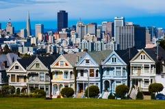 Cuadrado de Álamo en San Francisco Imágenes de archivo libres de regalías