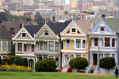 Cuadrado de Álamo, San Francisco Fotografía de archivo libre de regalías