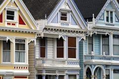 Cuadrado de Álamo, San Francisco fotos de archivo