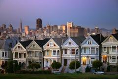 Cuadrado de Álamo, San Francisco Fotos de archivo libres de regalías