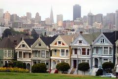 Cuadrado de Álamo, San Francisco, California, los E.E.U.U. imagen de archivo