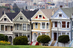 Cuadrado de Álamo, San Francisco, California, los E.E.U.U. foto de archivo libre de regalías