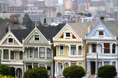 Cuadrado de Álamo, San Francisco, California, los E.E.U.U. imagenes de archivo