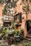 Cuadrado de Acetari en Roma Fotografía de archivo