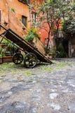 Cuadrado de Acetari en Roma Foto de archivo libre de regalías