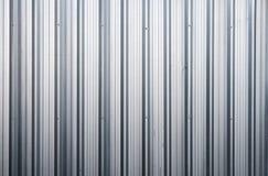 Cuadrado de aluminio del metal del fondo del primer del cinc vertical Fotografía de archivo libre de regalías
