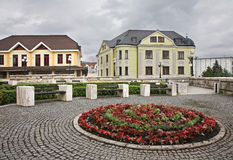 Cuadrado de Andrej Hlinka en Zilina eslovaquia imagen de archivo libre de regalías