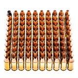 Cuadrado de balas Foto de archivo libre de regalías