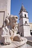 Cuadrado de Benevento Imágenes de archivo libres de regalías
