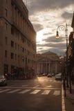 Cuadrado de Borsa en Trieste Imagenes de archivo
