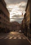 Cuadrado de Borsa en Trieste Imágenes de archivo libres de regalías