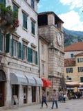 Cuadrado de brazos, Kotor, Montenegro Foto de archivo libre de regalías