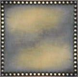 Cuadrado de bronce Fotografía de archivo libre de regalías