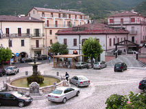 Cuadrado 2 de Castel di Sangro Plebiscito foto de archivo libre de regalías