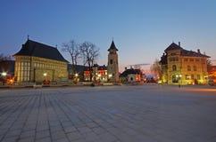Cuadrado de ciudad Foto de archivo