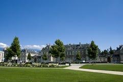 Cuadrado de ciudad de Grenoble Imagen de archivo libre de regalías
