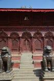 Cuadrado de Durbar en Katmandu Nepal Imagen de archivo