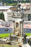 Cuadrado de Espanya Imagen de archivo