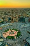 Cuadrado de Estambul Taksim Fotografía de archivo libre de regalías