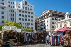 Cuadrado de Greenmarket en Cape Town Foto de archivo libre de regalías