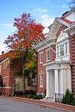 Cuadrado de Harvard, Cambridge fotografía de archivo