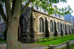 Cuadrado de Harvard, Cambridge foto de archivo libre de regalías